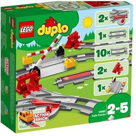 Konstruktors Lego Duplo Train Tracks 10882