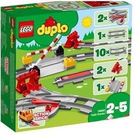 Konstruktors LEGO® Town 10882 Dzelzceļa sliedes