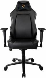 Spēļu krēsls Arozzi Primo PU Black/Gold