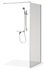 Стенка для душа Brasta Glass Ema, 800 мм x 2000 мм