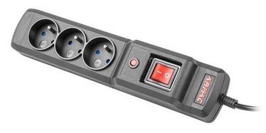 ARMAC Surge Protector 3 Outlet Black 2.5m