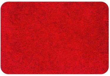 Spirella Highland Bathroom Rug Red