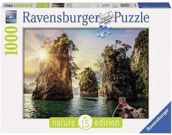 Puzle Ravensburger Three Rocks In Cheow Thailand 13968, 1000 gab.