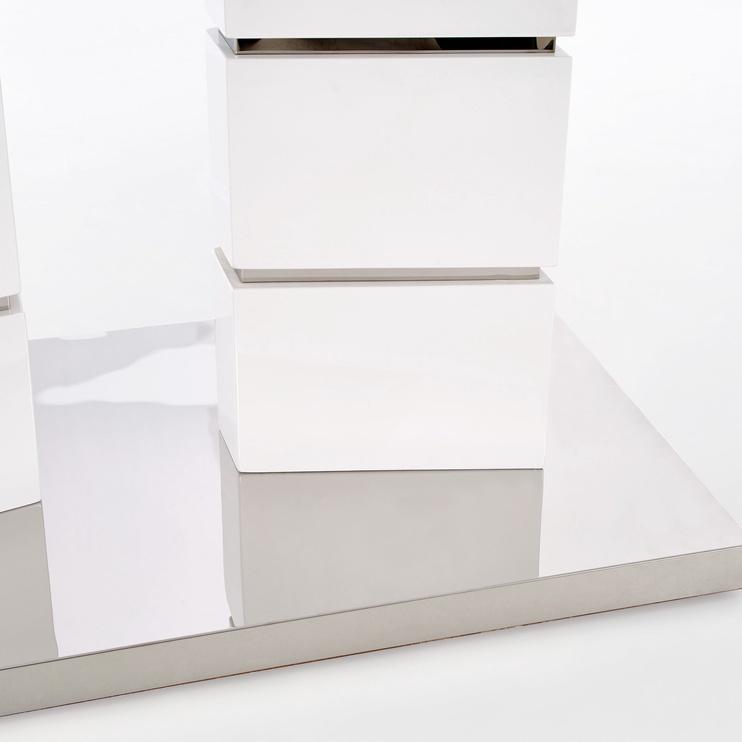 Обеденный стол Halmar Lord White, 1600 - 2000x900x750 мм