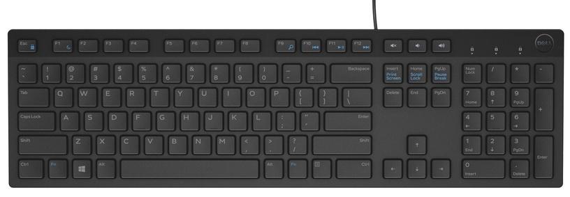 DELL KB216 Keyboard RU Black