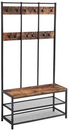 Songmics Coat Rack With Shoe Storage Bench 100x40x184cm