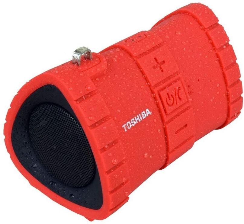 Bezvadu skaļrunis Toshiba Sonic Dive 2 Red, 6 W