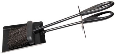 Liekšķeres un birstes komplekts Flammifera 54B-A, melns