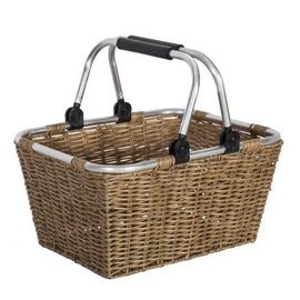 Home4you Basket Lido 40x30xH20cm Brown