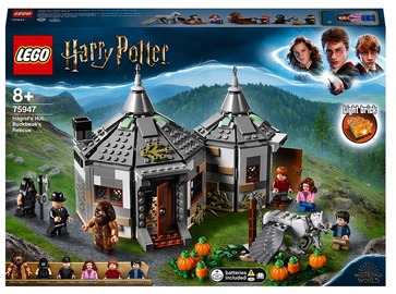 Konstruktors LEGO Harry Potter Hagrida būda: Švītknābja glābšana 75947, 496 gab.