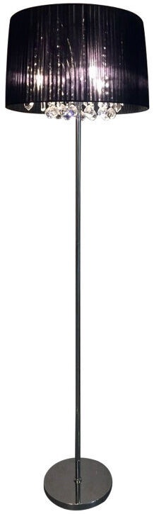 Verners Dilema Floor Lamp 3x40W E14 Chrome/Black