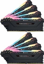 CORSAIR Vengeance RGB Pro Black Series 64GB 3200MHz CL16 DDR4 KIT OF 8 CMW64GX4M8C3200C16