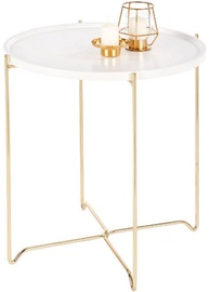 Halmar Casa Coffee Table White/Gold
