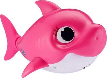Vannas rotaļlieta Zuru Pinkfong Baby Shark Mommy Shark Pink, 9 cm