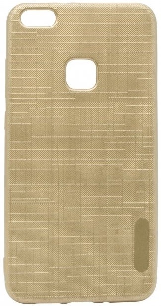 Mocco Cloth Texture Back Case For Huawei P9 Lite 2017 Gold