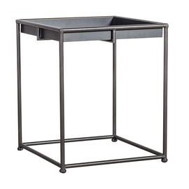 Kafijas galdiņš Home4you Ferro Metal, 380x380x450 mm
