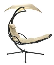 Dārza krēsls Home4you Dream 10024, bēša, stiprināms