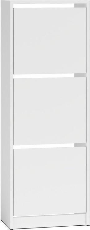 Top E Shop Betsi Shoe Cabinet White
