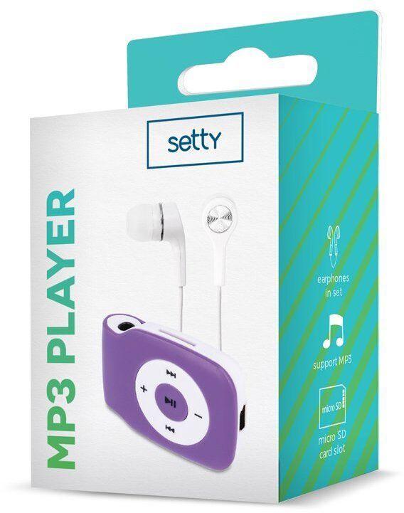 Mūzikas atskaņotājs Setty V2 Super Compact Purple, - GB
