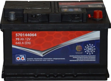 Akumulators AD BALTIC 570144064, 12 V, 70 Ah, 640 A