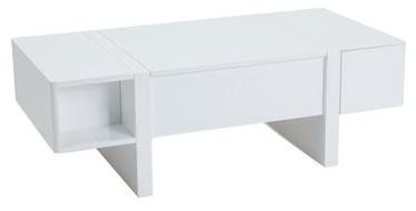 Kafijas galdiņš Signal Meble Mido White, 1200x600x400 mm