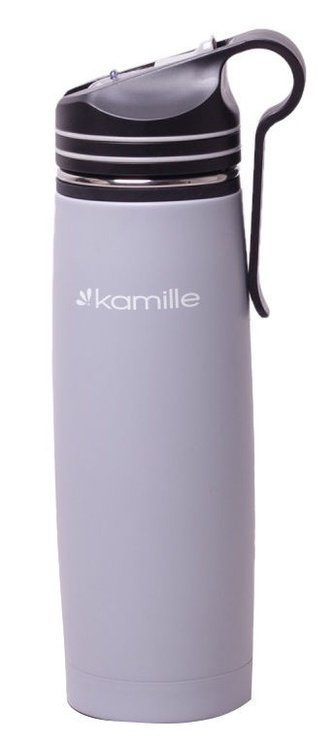 Kamille Sports Water Bottle 500ml Gray KM2058