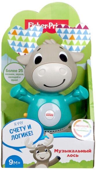Interaktīva rotaļlieta Fisher Price Price Musical Moose RU GJB21