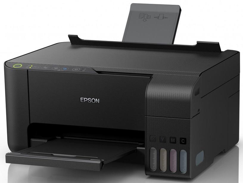 Daudzfunkciju printeris Epson L3150, tintes, krāsains