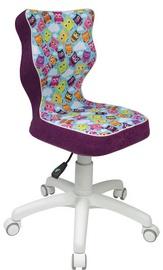 Bērnu krēsls Entelo ST32 White/Violet