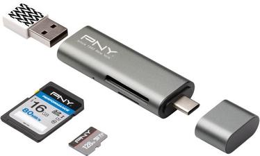 PNY USB-C Card Reader - USB Adapter