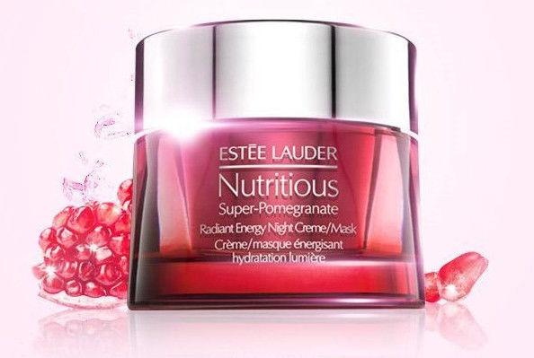 Sejas krēms Estée Lauder Nutritious Super-Pomegranate Radiant Energy Moisture Creme, 50 ml