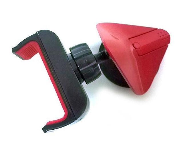 "Omega Universal Smartphone Holder 3.5-5.3"" Red"