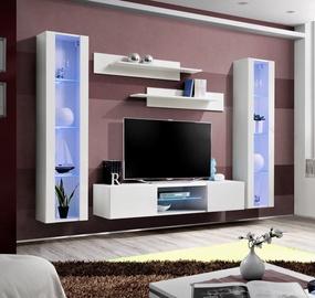 Dzīvojamās istabas mēbeļu komplekts ASM Fly O2 White