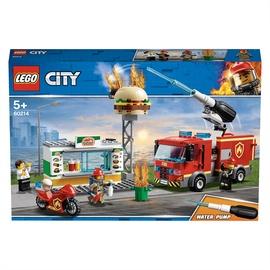 Konstruktors LEGO City Ugunsgrēks burgeru kafejnīcā 60214, 327 gab.