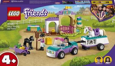 Конструктор LEGO Friends Тренировка лошади и прицеп для перевозки 41441, 148 шт.
