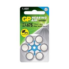 Elements GP Hearing Aid ZA675/PR44 Battery 6pcs