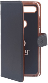 Celly Wally Book Case For Huawei Honor View 20 Black