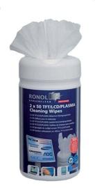 Ronol TFT/LCD/PLASMA Cleaning Wipes 2 x 50 pcs