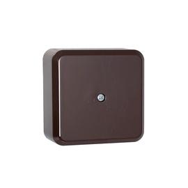 Liregus PMD 60x60mm Junction Box Black