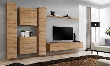 Комплект мебели для гостиной ASM Switch VI, дубовый