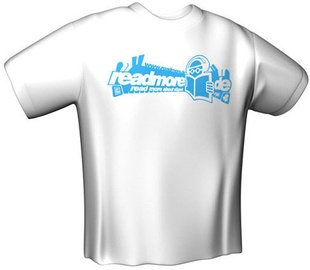 GamersWear Readmore T-Shirt White XXL