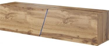 ТВ стол Vivaldi Meble Slant 160, коричневый, 1600x400x340 мм