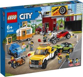 Конструктор LEGO® City 60258 Тюнинг-мастерская