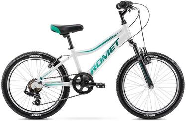 "Bērnu velosipēds Romet Rambler 2120636, zila/balta, 10"", 20"""