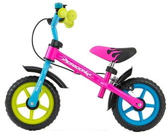 Velosipēds Milly Mally DRAGON Balance Bike Multicolour 2152