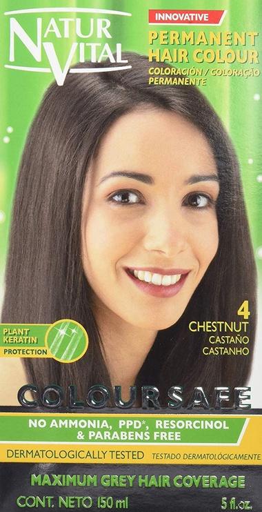 Natur Vital Coloursafe Permanent Hair Colour 150ml 4