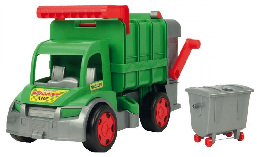 Wader Giant Garbage Truck 65cm Green 67015