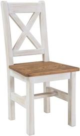 Ēdamistabas krēsls Signal Meble Poprad Honey Brown, 1 gab.