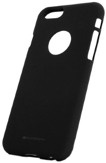 Mercury Soft Surface Back Case For Samsung Galaxy S8 Black