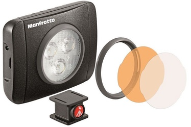 Manfrotto LED Light Lumimuse Black MLUMIEPL-BK